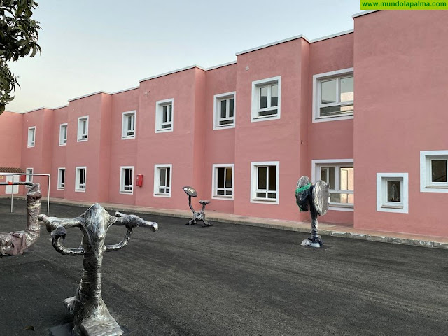 El Ayuntamiento de Breña Alta ultima los detalles de ampliación del Centro Residencial Nina Jaubert