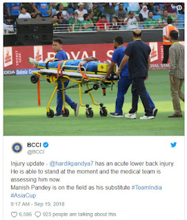 BCCI tweet