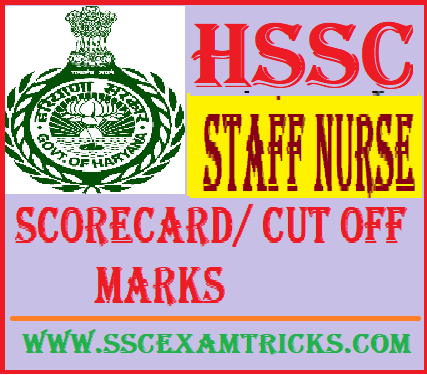 HSSC Staff Nurse Answer Keys