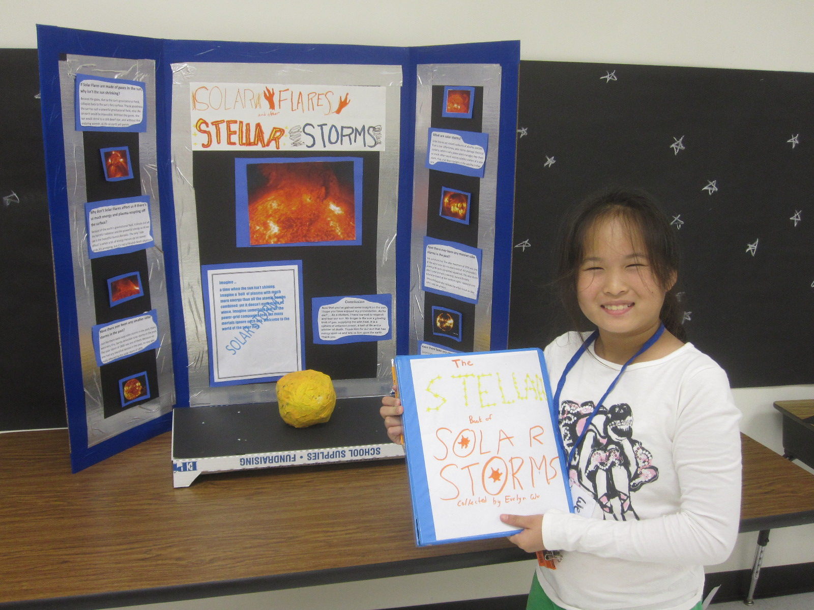 The Gt Classroom Fifth Grade Astronomy Research Projects