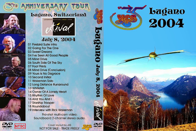 Yes - Live at Lugano Jazz Festival 2004 DVD