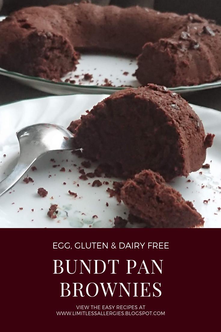 Pin Bundt Style Brownies