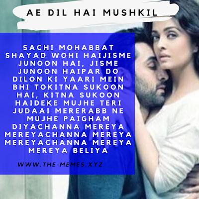 Ae dil hai mushkil sachi mohabbat lyrics Whatsapp Video Status Download 2020
