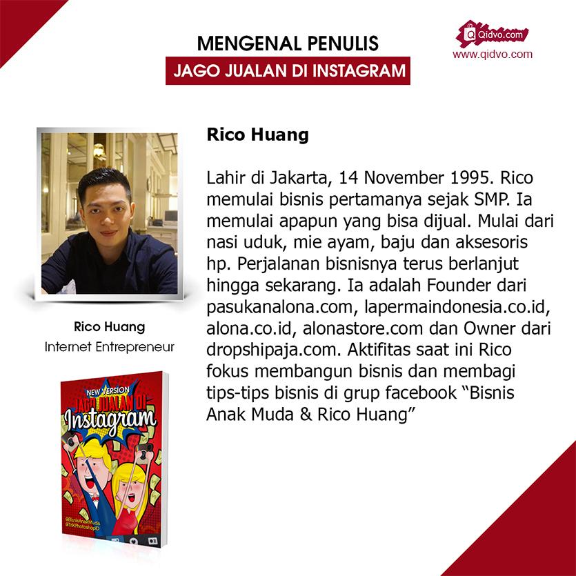Buku Jago Jualan di Instagram dari Rico Huang | Cara Jualan di Instagram