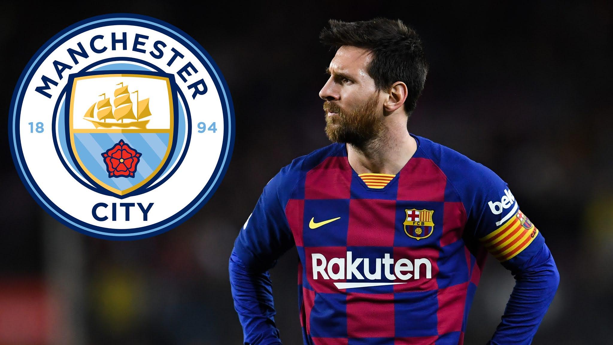 Manchester City Lionel Messi FC Barcelona