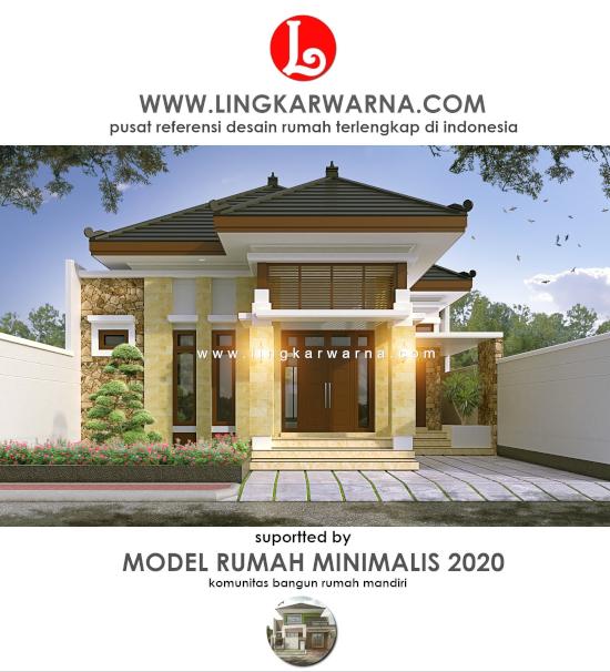 Lingkar Warna 21 Desain Rumah Bali Minimalis Denah