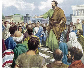 a discussion pauls preaching in athens In acts 13:16-41, we have paul's sermon delivered to the jews in the  did paul  leave athens when there were those who still wanted to talk.