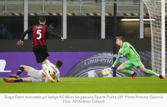 Milan vs Sparta Praha 3–0 Highlights Liga Europa