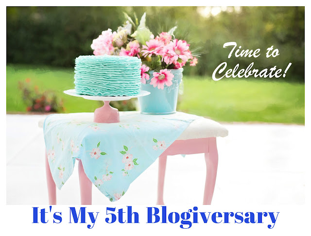 It's My 5th Blogiversary! -- How Did I Get Here? My Amazing Genealogy Journey