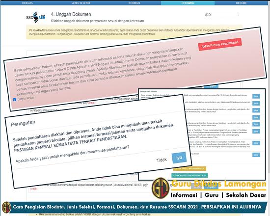 Cara Pengisian Biodata, Jenis Seleksi, Formasi, Dokumen, dan Resume SSCASN 2021. PERSIAPKAN INI ALURNYA