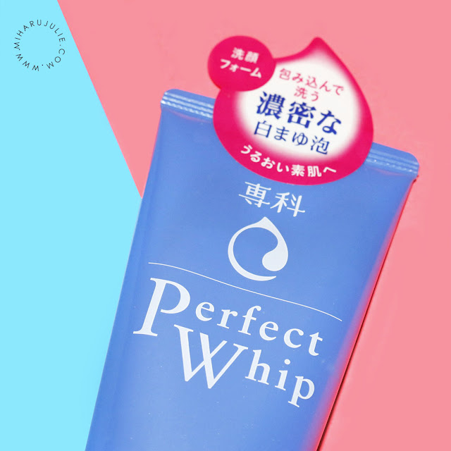 Review Shiseido Perfect Whip Facial Foam