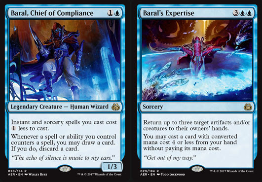 magic the gathering adventures aether revolt review blue