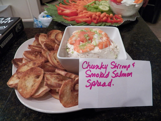 Chunky Shrimp and Smoked Salmon Spread