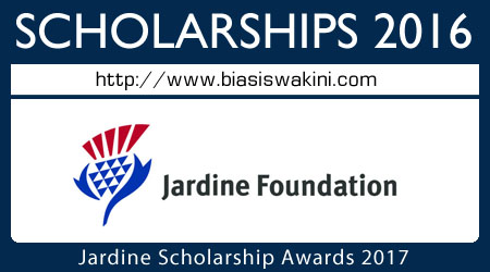 Jardine Scholarship Awards 2017