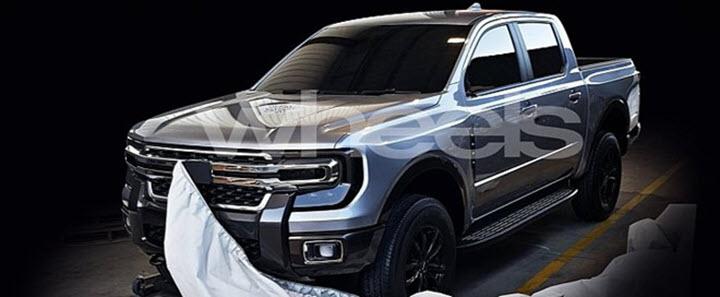 Lộ ảnh được cho là thiết kế Ford Ranger thế hệ mới