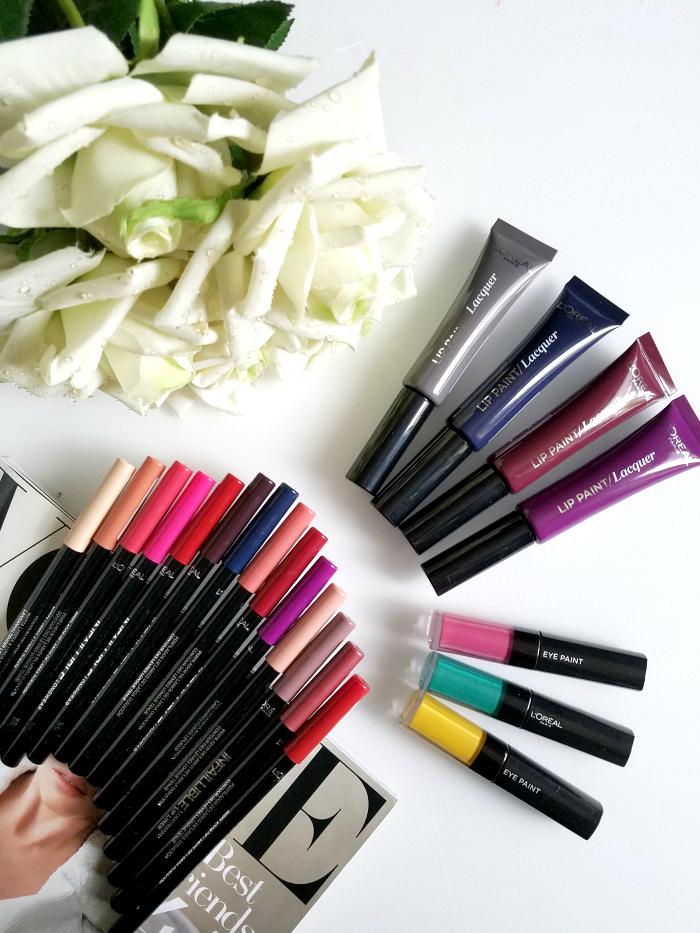 Review & Swatches: L´Oréal Paris - Infaillible Longwear Lip Liner, Lip Paint Vampies & Eye Paint - Neue Farben 1
