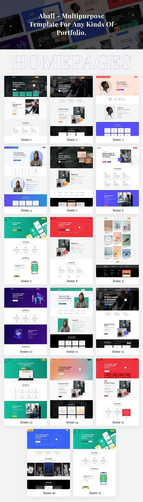 Creative Agency and Portfolio Template