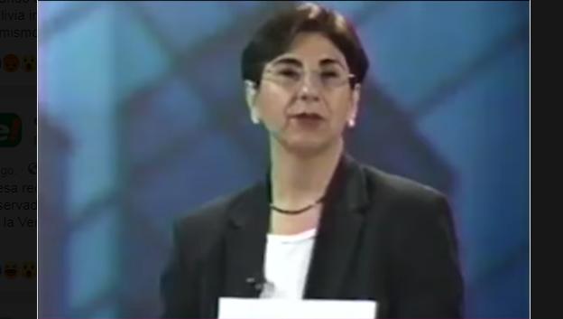 Pando en un programa informativo de diciembre de 2003 / WEB
