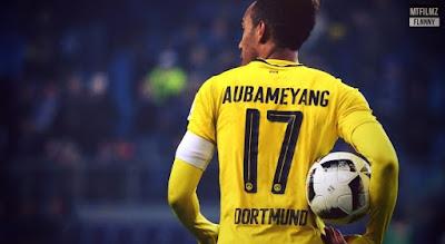 Aubameyang Tidak Akan Ke Arsenal