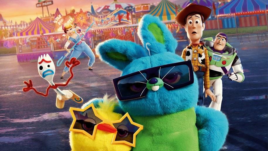 Toy Story 4 Characters Bunny Ducky Woody Buzz Lightyear 4k