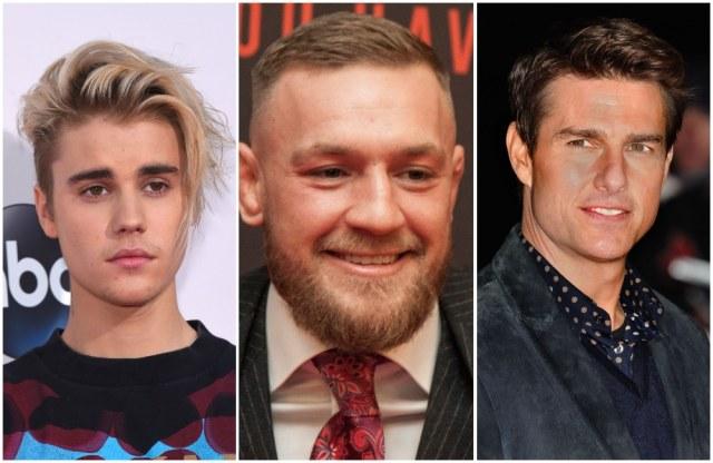 Justin Bieber reta a Tom Cruise a una pelea de Artes Marciales Mixtas y el campeon Conor McGregor se ofrece a organizarla