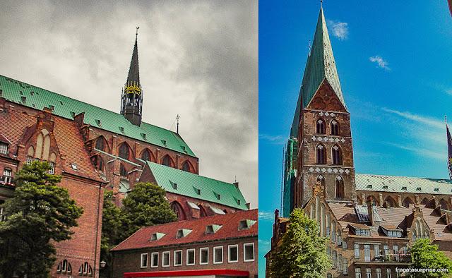 Marienkirche, Lübeck, Alemanha