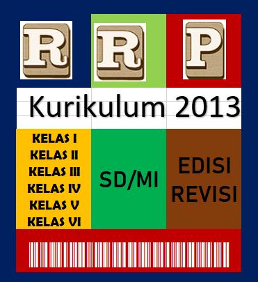 RPP K13 Kelas 1 Sanpai Dengan Kelas 6 SD/MI Update Revisi Terkini