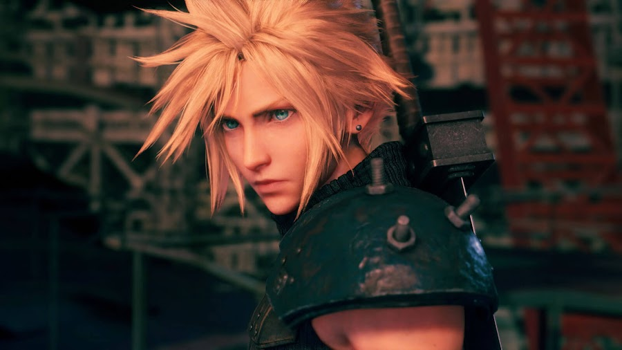 final fantasy 7 remake cloud strife screenshot ps4 square enix tgs 2019