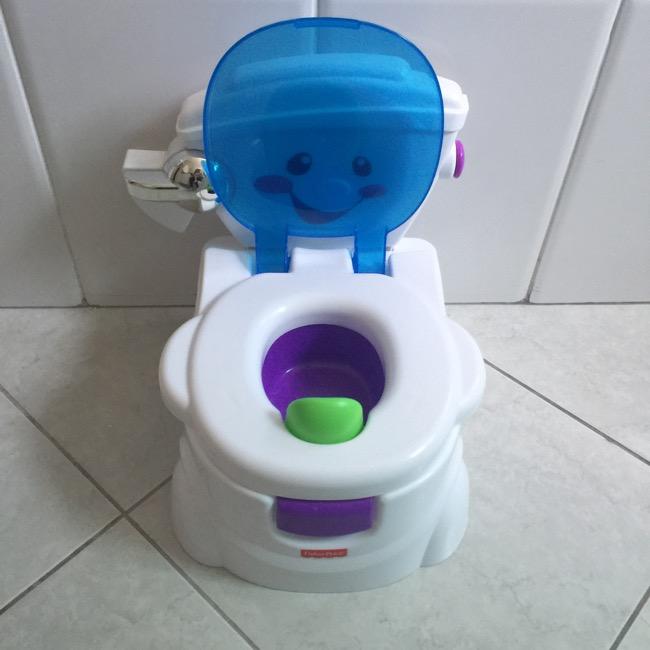 Desfralde com Troninho Toilette de Fisher-Price