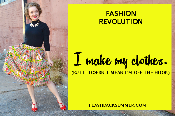 Flashback Summer - Fashion Revolution 2016 - Makers