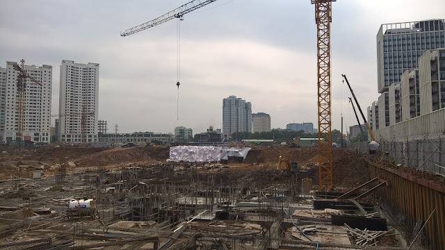 tiến độ tòa A5 An Bình City