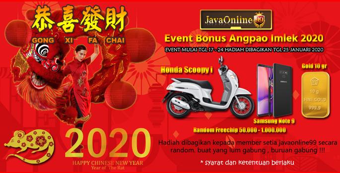 Event Angpao imlek 2020