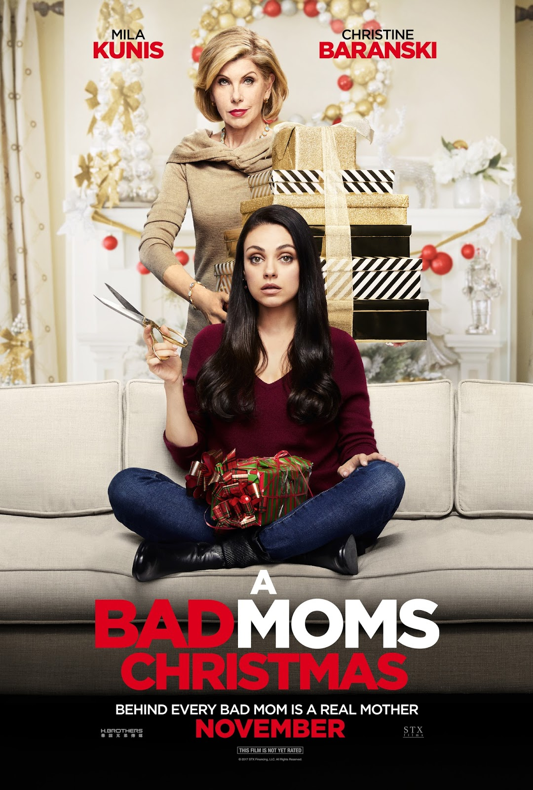new red band trailer amp character posters for badmomsxmas