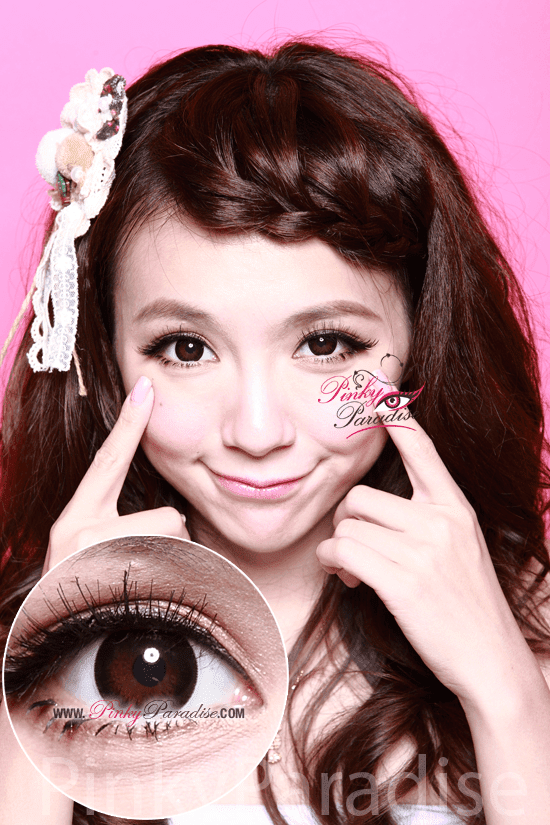 G&G Angel Ex Black Circle Lenses (Colored Contacts)