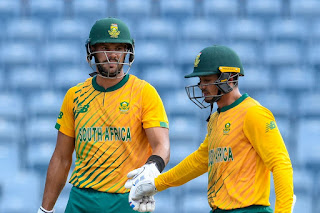 West Indies vs South Africa 5th T20I 2021 Highlights