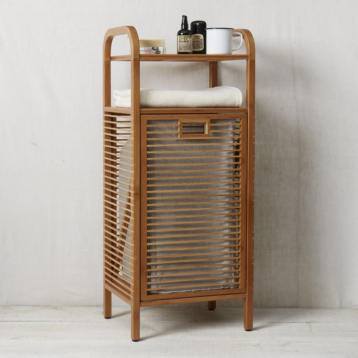 Bamboo Lamp Photo: Bamboo Laundry Hamper