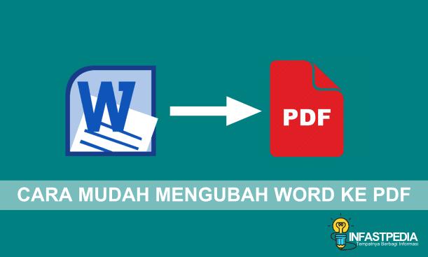 √ 5+ Cara Mengubah Word ke PDF Paling Mudah