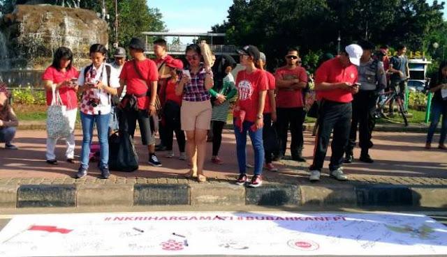 Meski Manfaatkan CFD, Pendukung Ahok yang Gelar Petisi Bubarkan FPI Sepi Peminat