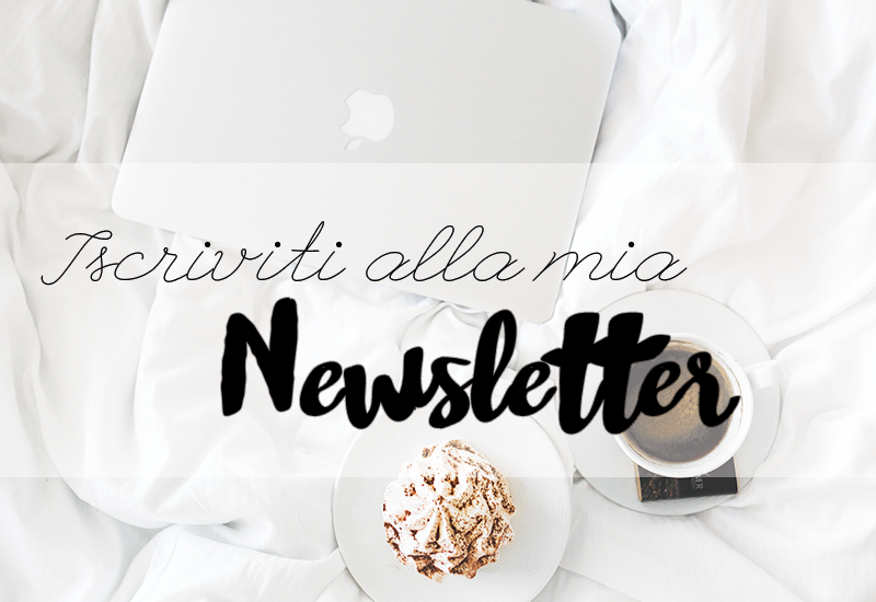 Iscriviti alla newsletter del blog My Lovely Hook