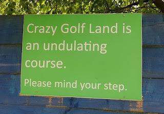 Crazy Golf Land at Fenton Manor Sports Complex in Stoke