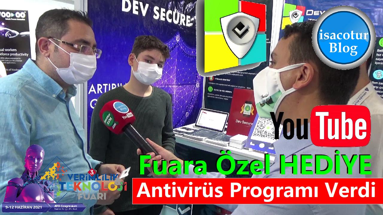 Dev Secure Fuara Özel Hediye Antivirüs Programı Verdi
