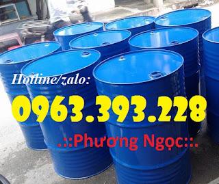 Thùng phuy sắt nắp kín 220 Lít, thùng phuy đựng hóa chất