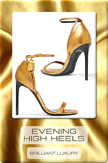 ♦Feminine Evening Wear Heels I #shoes #christianlouboutin #jimmychoo #dolceandgabbana #saintlaurent #sophiawebster #brilliantluxury