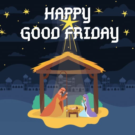 Good Friday Images with quotes in Hindi