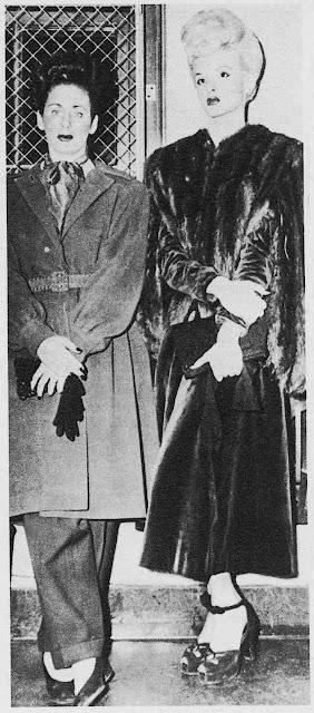 1954 bad girls UK youth large photograph