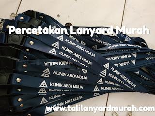 Percetakan tali lanyard murah dan terbaik di Jakarta