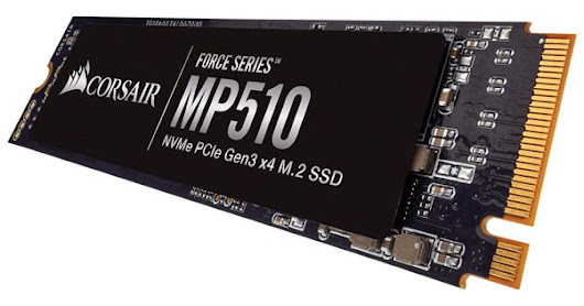CORSAIR Launches Force Series MP510 M.2 NVMe SSD in India