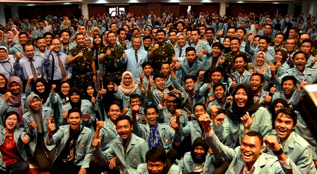 Panglima TNI Ajak Mahasiswa Amalkan Nilai-Nilai Universal Pancasila