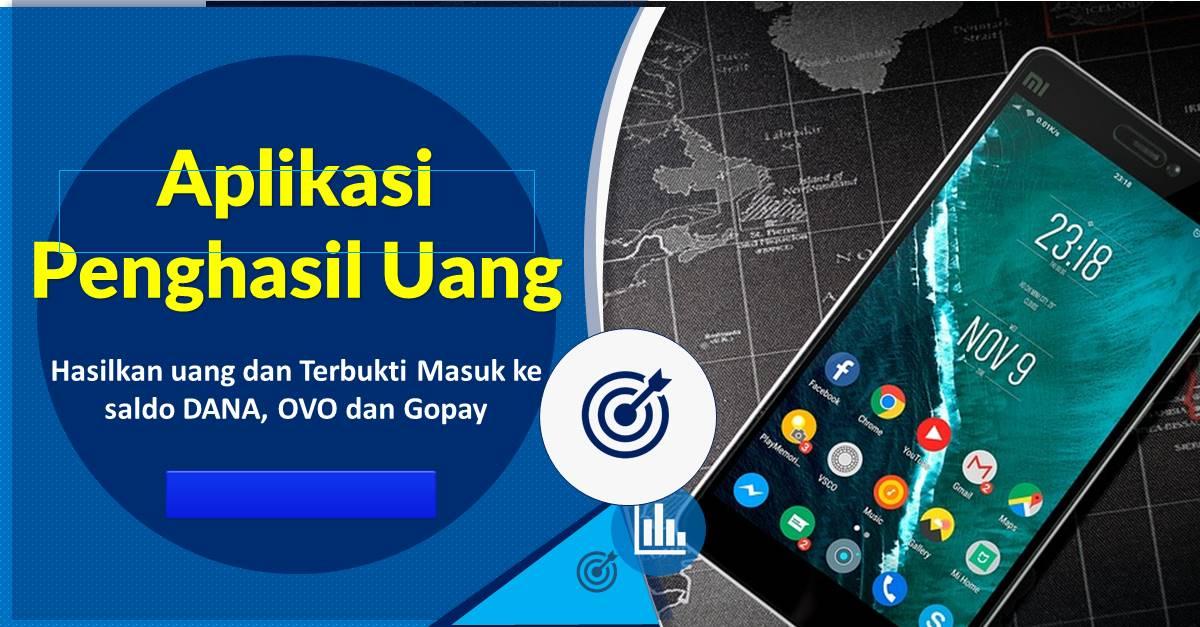 Aplikasi Penghasil Uang Tunai 2021