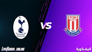 مشاهدة مباراة ستوك سيتي وتوتنهام هوتسبير بث مباشر بتاريخ 23-12-2020 كأس الرابطة الإنجليزية